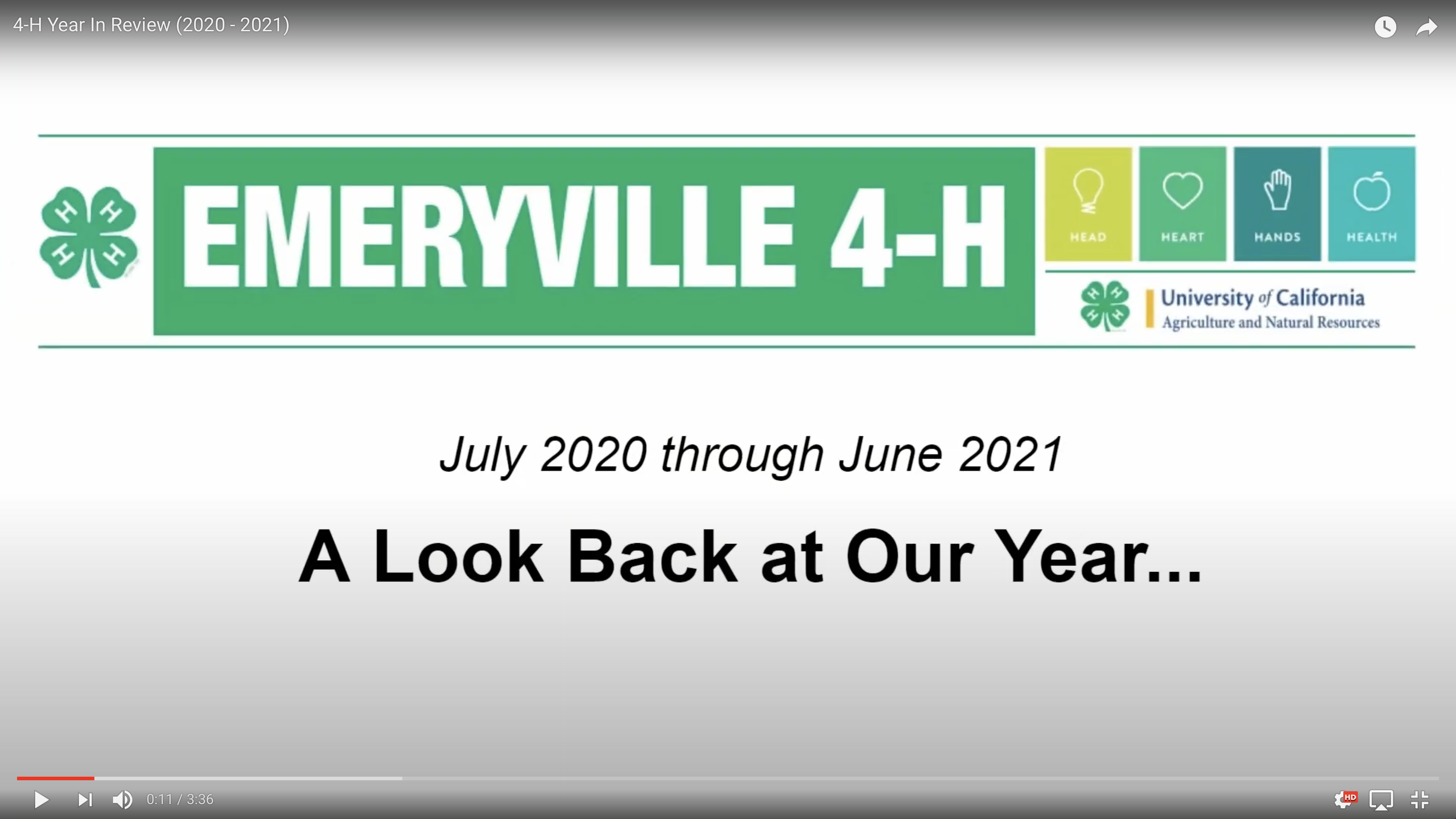 Click to see what we did last year!